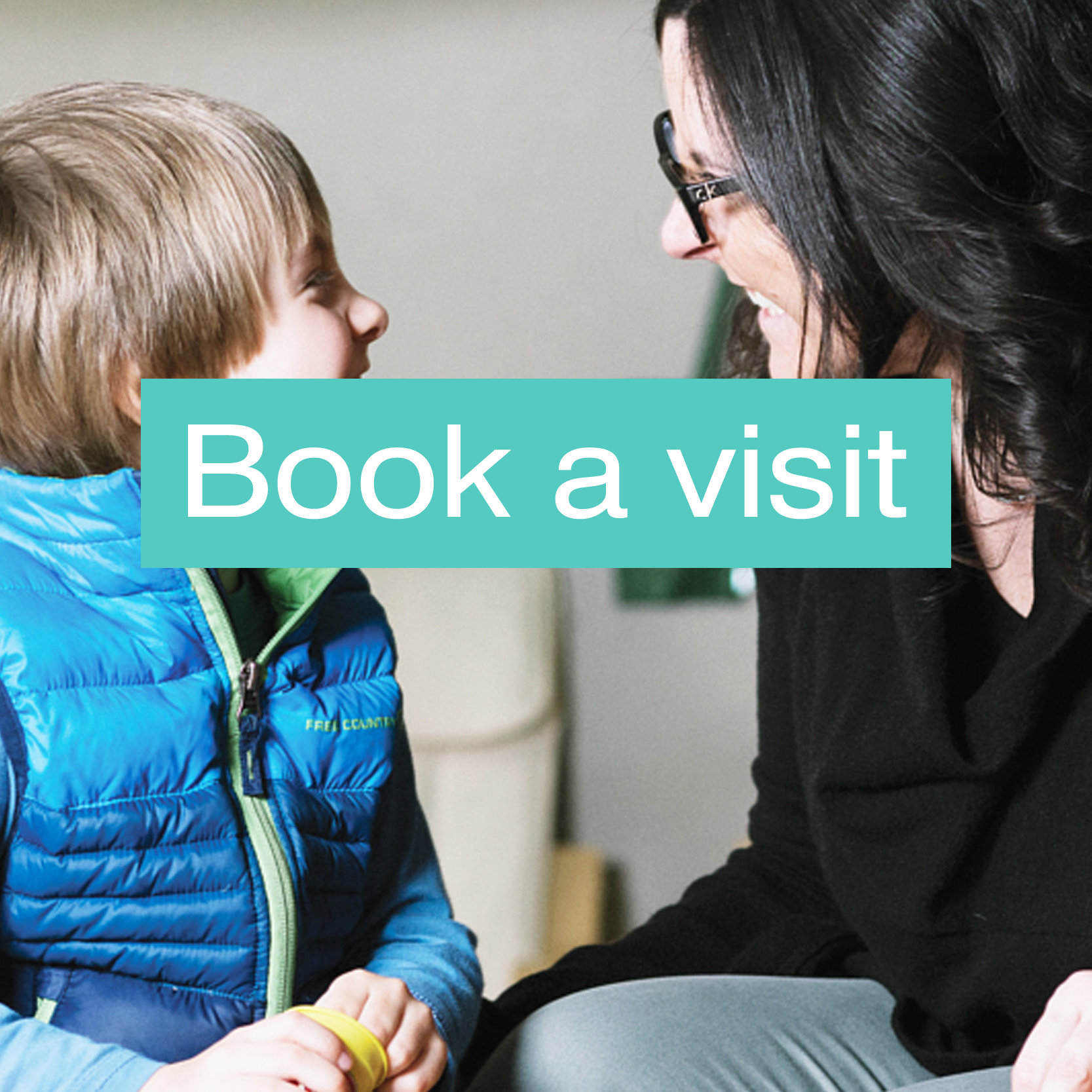 Book a visit with safe care